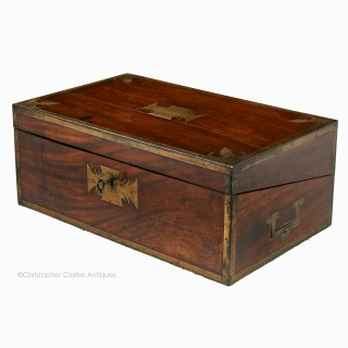 Georgian Mahogany Portable Desk or Writing Slope