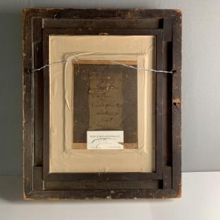 19th Century Oil On Board Of Inigo Jones, English Architect (1573-1652)