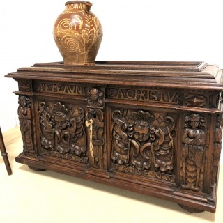 16th Century Italian Coffer