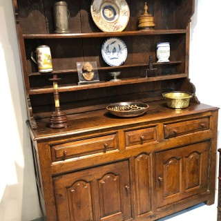 Small Oak Dresser North Wales C1720