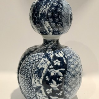 Arita Double Gourd Shonsui Vase