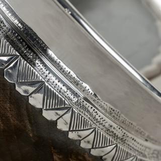 Silver Mounted Mazer Bowl by Albert Edward Jones