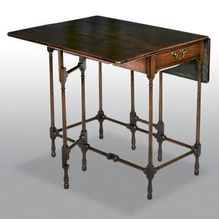 Antique Georgian Mahogany Spider Leg Pembroke Table
