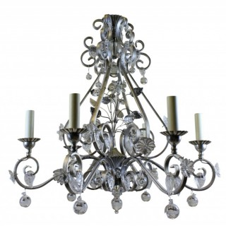A BAGUES STYLE CHANDELIER