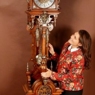 Exhibition Quality Black Forest LFS Longcase Clock, Circa 1876