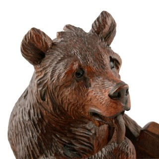 Carved Black Forest Bear