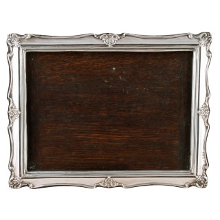Three Matching Sterling Silver Photo Frames