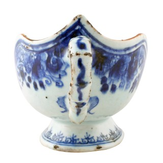 Chinese Qing Dynasty Sauce Boat
