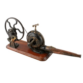 Victorian Iron & Brass Mechanical Bellows