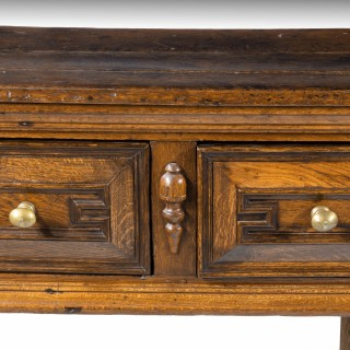 A Particularly Good Late 17th Century Oak Dresser