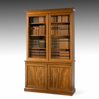 A Very Good Early 19th Century Bookcase of Good Size