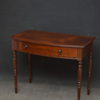 Regency Mahogany Dressing Table / Side Table