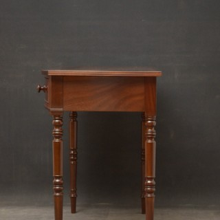 Regency Mahogany Dressing Table / Side Table