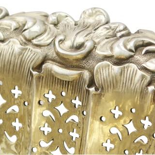 Sterling Silver Basket - Antique Victorian (1897)