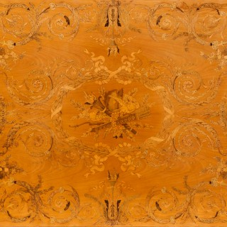 A Fine Marquetry Centre Table by James Plucknett of Warwick