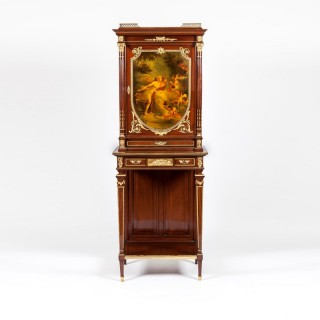 A Vernis Martin Cabinet in the Louis XVI Manner