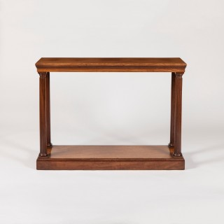 A Late Georgian Console Table