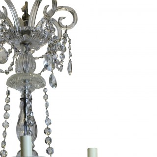 FRENCH CUT GLASS CHANDELIER