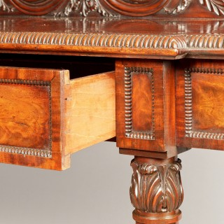 A Georgian Mahogany Serving Table of the Regency Period