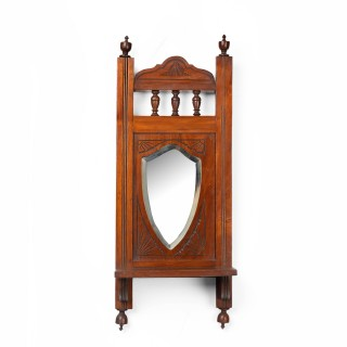 A Small Edwardian Period Mirror