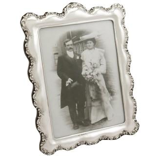 Sterling Silver Photograph Frames - Antique Edwardian