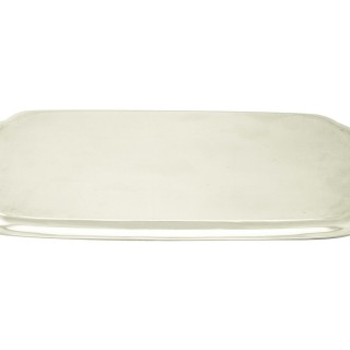 Sterling Silver Drinks Tray - Art Deco - Antique George VI (1938)