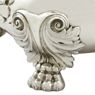 Sterling Silver Soup Tureen - Antique George IV (1821)