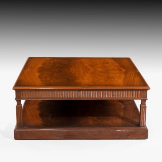 A Large and Attractive Late 20th Century Coffee Table by Charles Barr