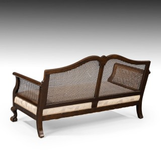 A Most Attractive Early 20th Century Bergere Sofa