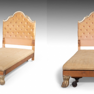 A Most Attractive Pair of Early 20th Century Continental Single Beds