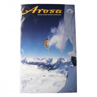 Travel Ski Poster- Arosa