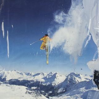 Travel Ski Poster- Arosa