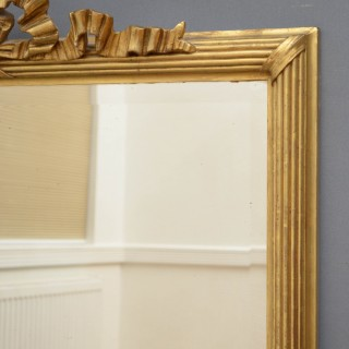 Turn of the Century Giltwood Mirror