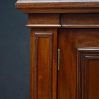 Victorian Mahogany 3 Door Bookcase by John Taylor ans Son, Edinburgh