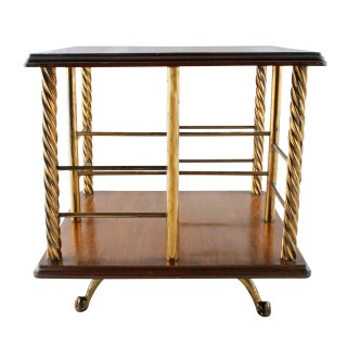 Victorian Oak Table Book Stand