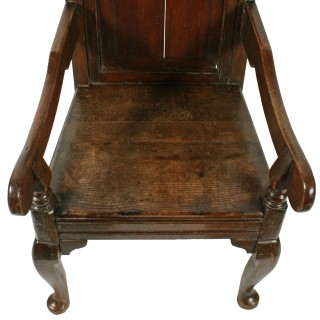18th Century Style Oak Arm Chair