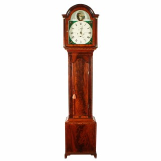 Georgian North Shields Grandfather Clock