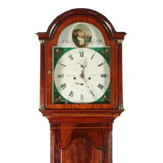 Georgian North Shields Grandfather Clock