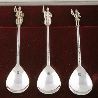 The Tichborne Sterling Silver Spoons