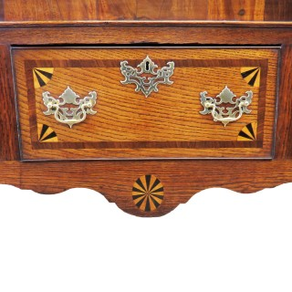 Georgian 18th Century Oak Cabriole Leg Dresser Base