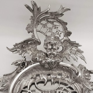 Antique Silver Plated Wall Lights