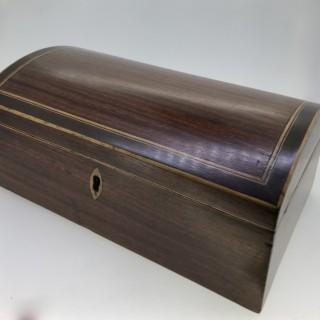George III Domed Box