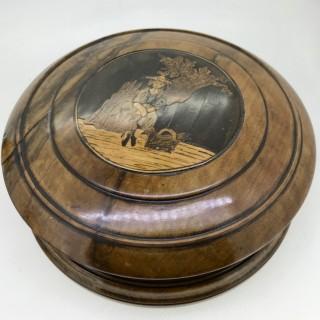 Antique Sorrento Ware Box