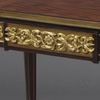 Louis XVI Style Centre Table After The Model By Jean-Henri Riesener By Paul Sormani