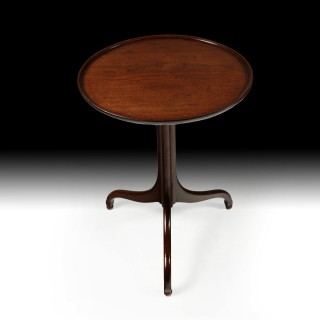 A George III Mahogany Tray Top Table