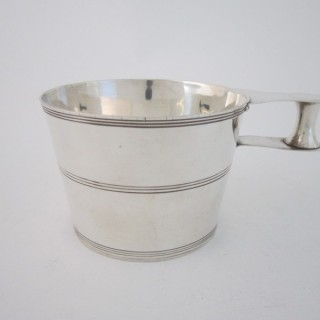 Antique Edwardian Sterling silver cup