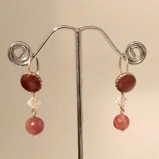 Antique Carnelian Earrings