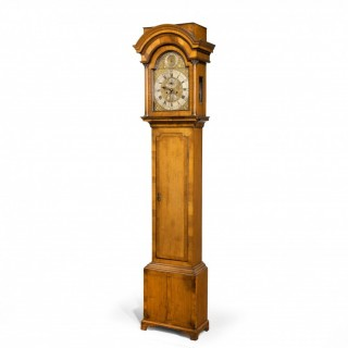 A Handsome Walnut George I Period Eight Day Longcase Clock by Samuel  Northcote