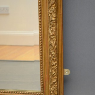 Louise Philippe Gilt Wall Mirror