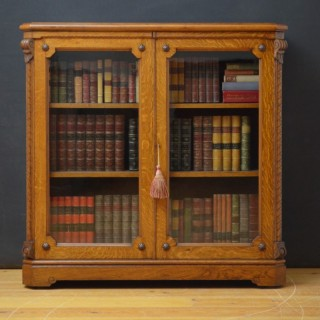 Superb Victorian Oak Bookcase